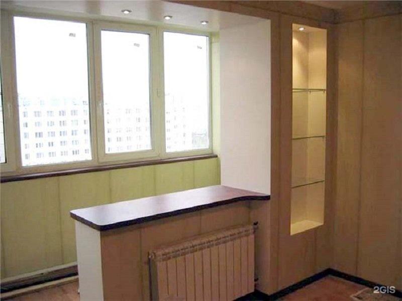Возможные варианты объединения балкона с комнатой - вагон-бы.