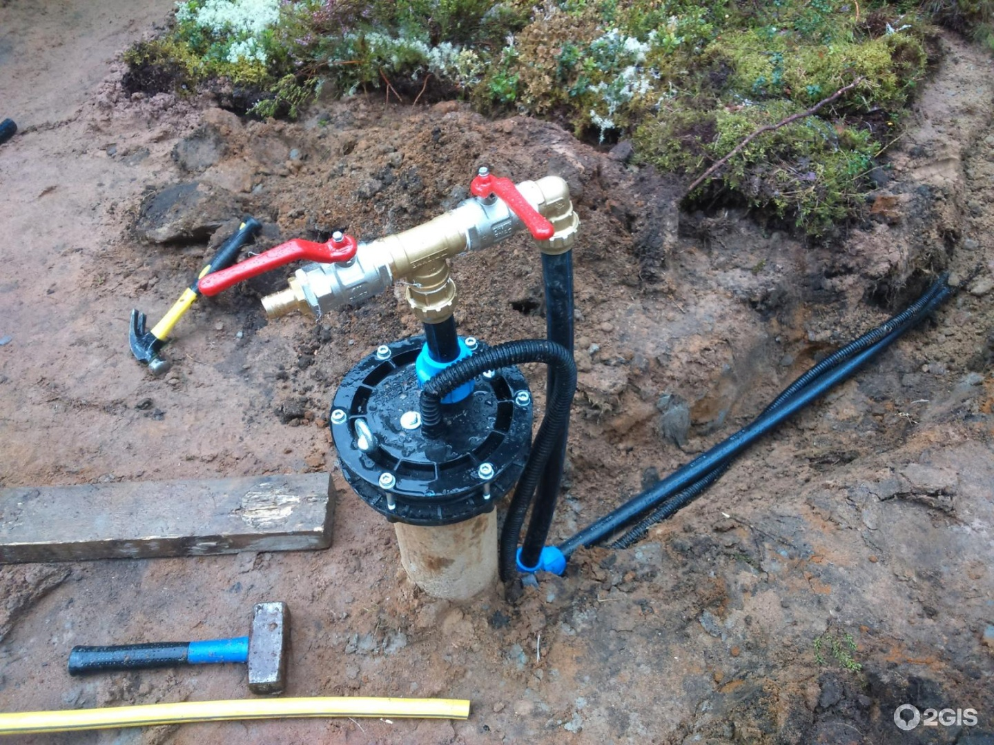 Оборудование скважины под воду своими руками 43