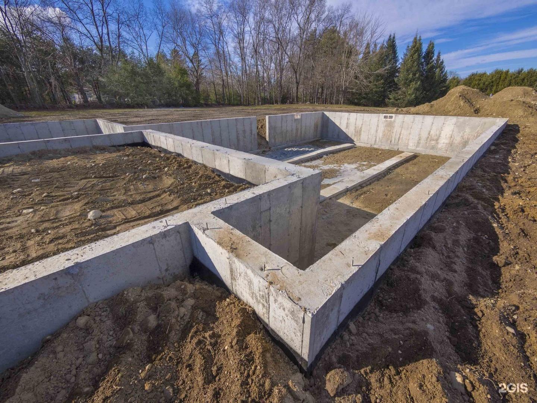 Фундамент для двухэтажного дома