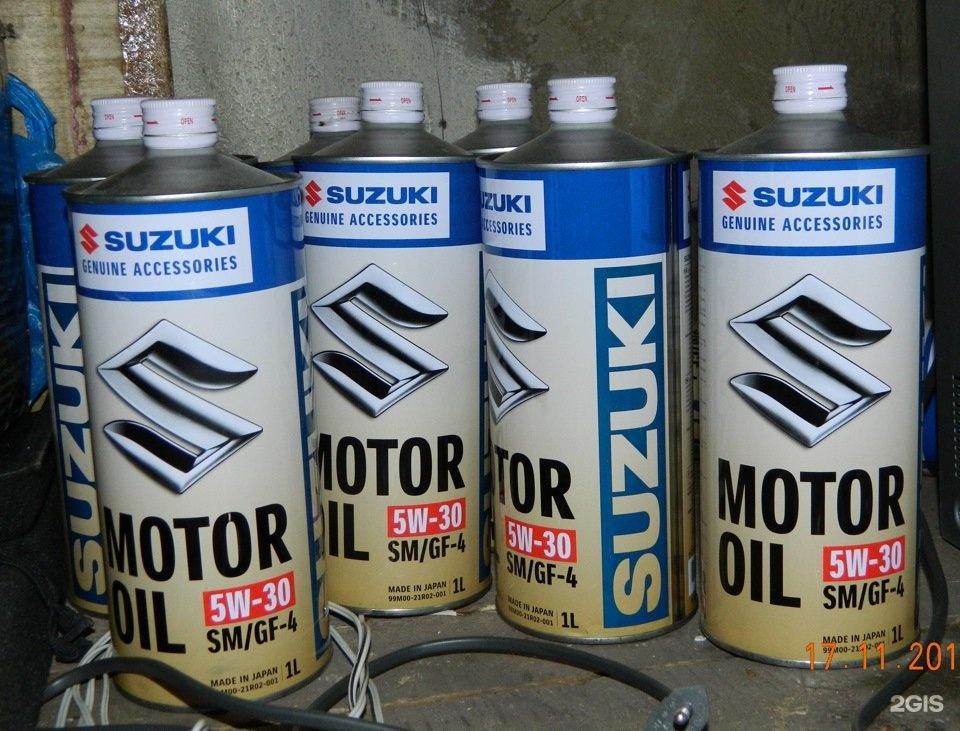 Какое масло льют в двигатель сузуки гранд витара