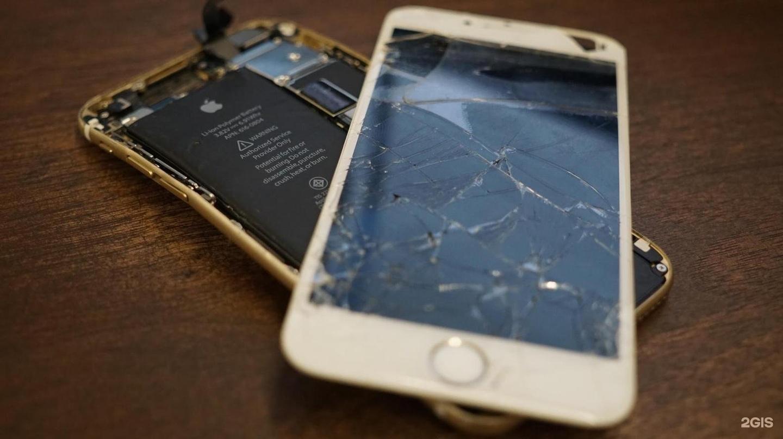 Ремонт экрана айфона