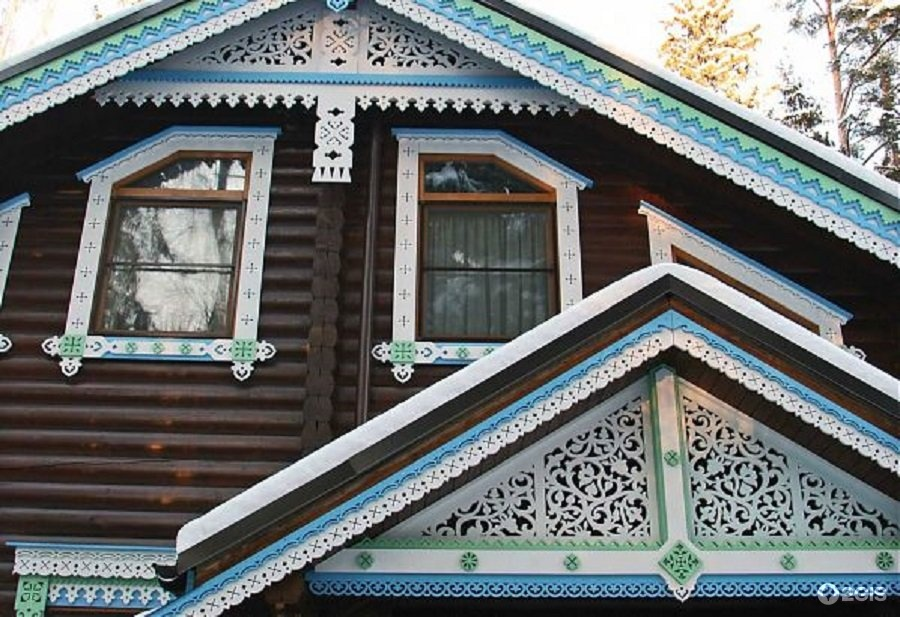 Днюхой, картинки на фронтон дома