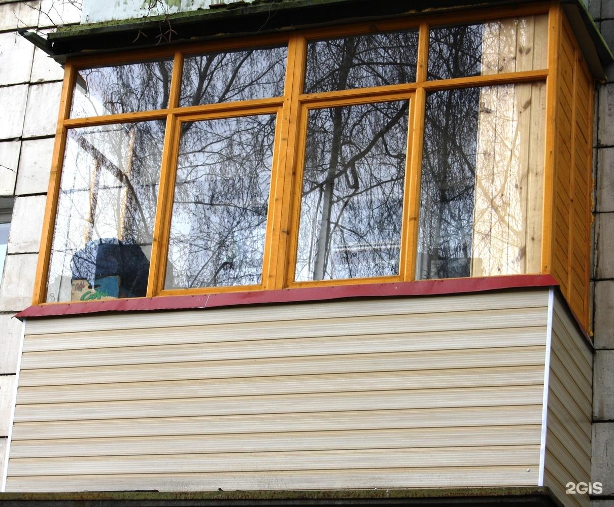 Как самому застеклить балкон деревянными рамами - russkij-li.
