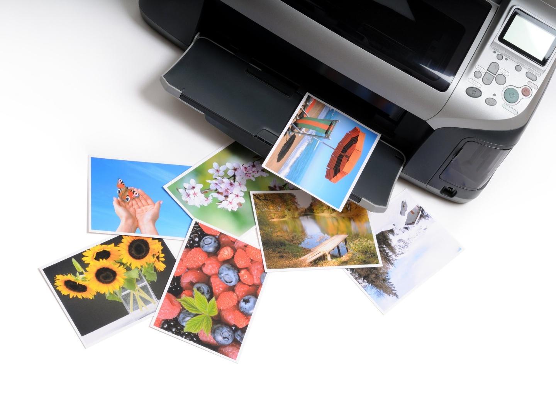 печать фото с флешки