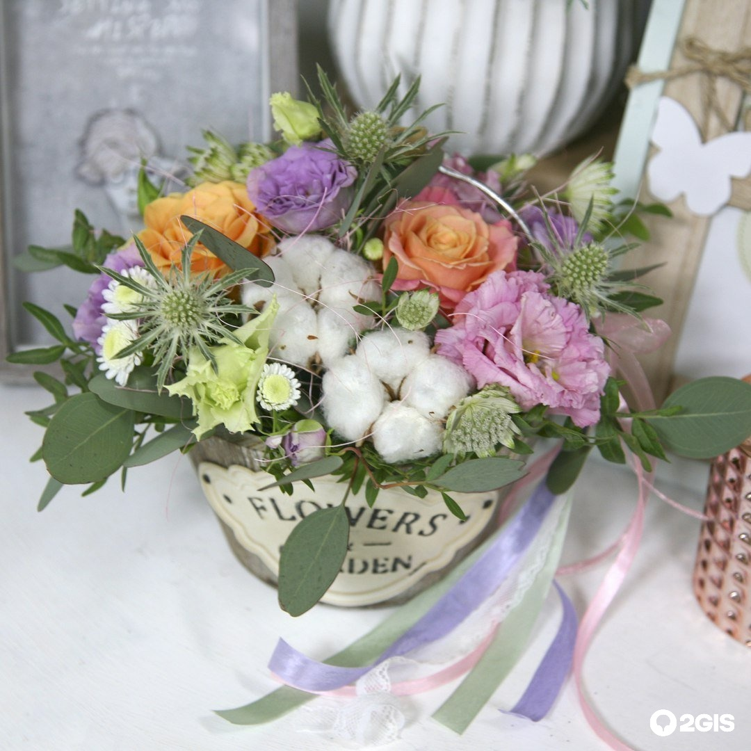 Магазин-салон цветов и подарков флора-дизайн