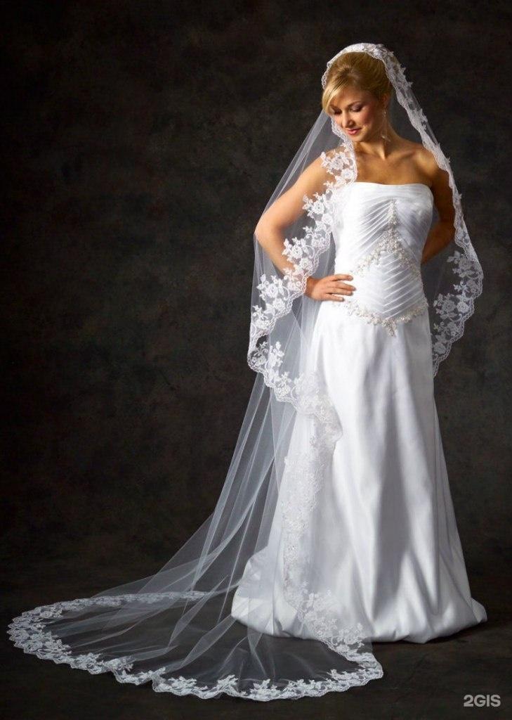 Свадебные платья с длинной фатой фото