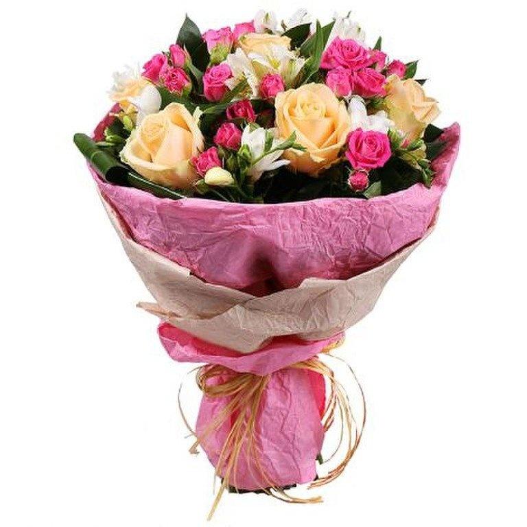 Каталог оформленные букеты из роз